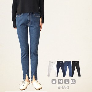 Skinny Tapered Denim Attached Ankle