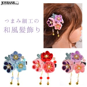 Knob Three Hair Clip Decoration
