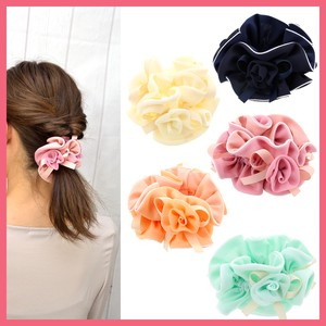 Rose 3 Pcs Wide Scrunchy