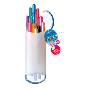 """Ballsign"" Ballpoint Pens Aqua Lip 10 color set"