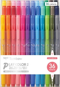 Aqueous pen Play Color 36 color set