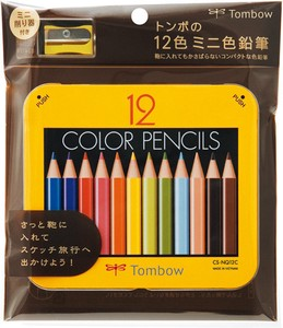 Colored Pencil 12 Colors Scraping Attached Pack