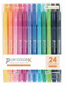 Aqueous Felt-tip pen 24 colors Pack