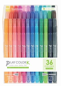 Aqueous Felt-tip pen 36 colors Pack