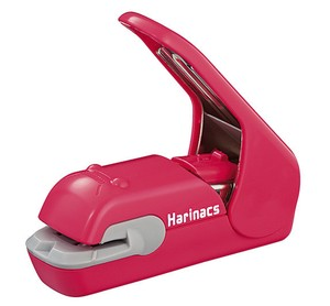 KOKUYO Harinacs Stapleless Stapler Press 5 Papers Pink