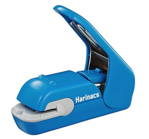KOKUYO Harinacs Stapleless Stapler Press 5 Papers Blue