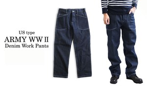 Type Denim Work Pants