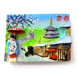 Japanese Style Japanese Pattern Magnet High Ground Kyoto