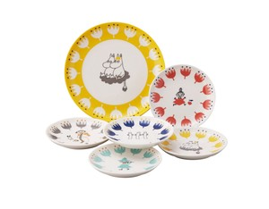 The Moomins kukka berryset  Plates Set