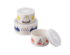The Moomins Microwave Oven 3-unit Set 1 Pc 2 Pcs