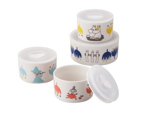 The Moomins Microwave Oven 4-unit Set 1 Pc 3 Pcs