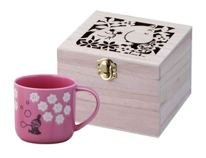 The Moomins Flow Wood Boxed Mug Little My