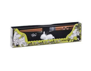 The Moomins Chopstick Chopstick Rest Set Little My