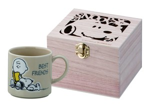 Colorful Peanuts Wood Boxed Mug Vest Friends