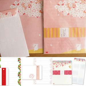 "Japanese Paper Writing Papers & Envelope Letter paper ""Ippitsusen"" Spelling Sakura"