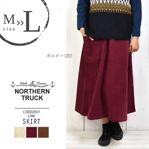 Rack Skirt Line Velour Flare Skirt