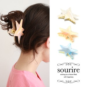 Natural stone Star Fish Clip Hair Clip Starfish