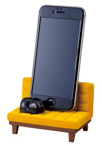 Utata Smartphone Stand Yellow Cat