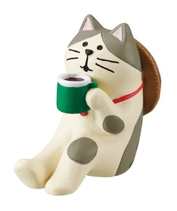 concombre Cat Coffee Ornament