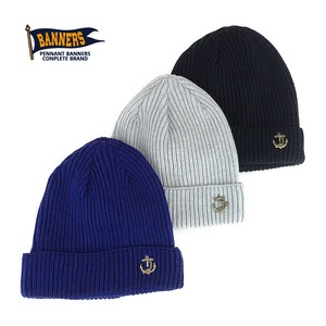 Anchor Pins Cotton Knitted Watch Cap Young Hats & Cap