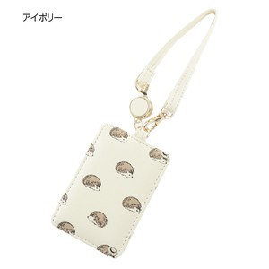 Hedgehog Repeating Pattern Commuter Pass Holder