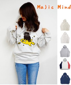 Space cat Fleece Long Sleeve Hoody