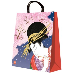 Ukiyoe(A Woodblock Print) Handbag Bag