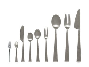 Cutlery Series Silver Hair line Stainless