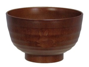 Wood Grain Soup Bowl Rabbit Washing Machine