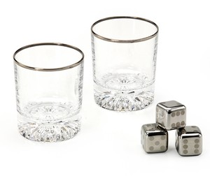 Rock Glass Cube Gift Cool