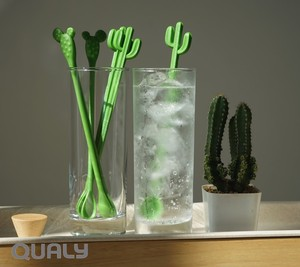 Cactus Star Cactus Cactus Form Cocktail Stirrer 6 Pcs Set