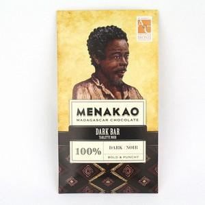 メナカオ ダークチョコレート100% 75G
