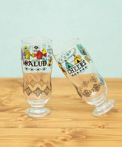 Round Beer Glass Glass Set Beer Gift Attached