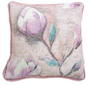Italy Washable Jacquard Cushion Cover Pink
