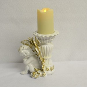Candle Angel Ornament