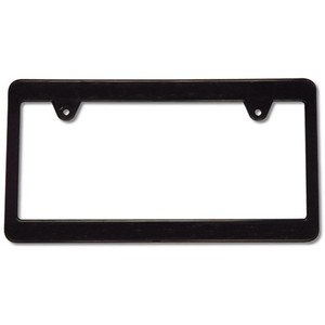 MOON Black Number Plate Frame Plain Moon