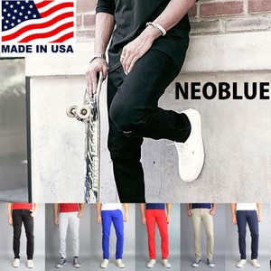 BLUE Blue Skinny Pants Stretch