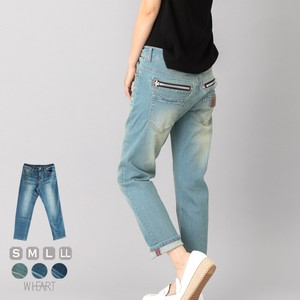Boy Friend Denim Zipper Point Office Denim