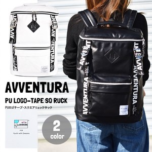AVVENTURA Tape Square Backpack Backpack Ladies Men's