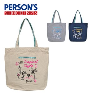 Tote Flamingo Tote Bag Cotton Light-Weight