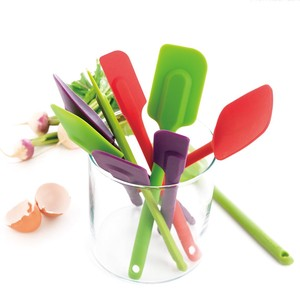 Kitchen Tool Silicone Black Green Red