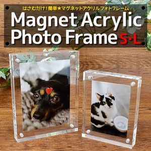 Magnet Acrylic Photo Frame Size L