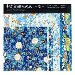 Yuzen Japanese Paper Chiyogami Origami Craft Doll Wrapping Made in Japan New Year