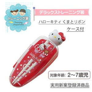 SKATER Training Chopstick Hello Kitty Ribbon Chopstick for Kids