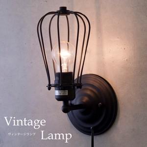 【壁照明】ヴィンテージウォールランプ[W135(F)(1灯)]<E26/梨型>
