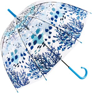 Dome Vinyl Umbrella Marine Life