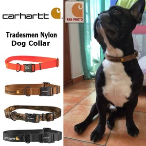 CARHARTT 【カーハート】Tradesmen Nylon Dog Collar / 犬用 首輪 (4色)