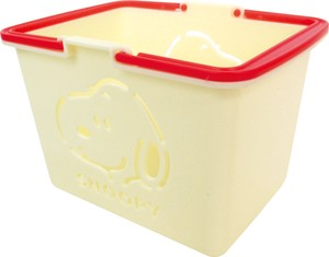 Color Basket Snoopy Off White SNOOPY