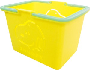Color Basket Snoopy Yellow SNOOPY