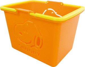 Color Basket Snoopy Orange SNOOPY